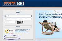 internet banking bri tidak bisa login