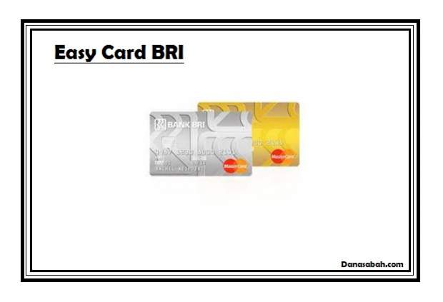Kelebihan Kekurangan Kartu Kredit Bri Easy Card Danasabah Com
